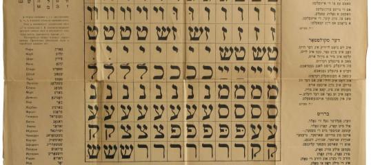 Learn Yiddish Online - Level 1